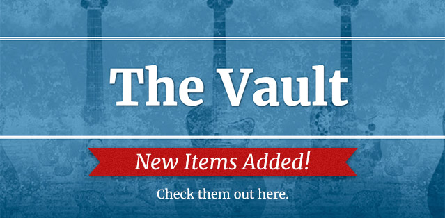 New items added to the Vault - check them out here